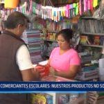 Comerciantes escolares: Nuestros productos no son tóxicos