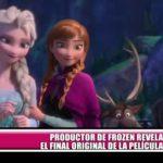 "Productor de ""Frozen"" revela el final original de la película"