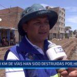 La Libertad: 60 kilómetros de vías han sido destruidas por huaicos