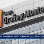 Mala inversión: Fondo de pensionistas de AFP se perderá