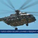 La Libertad: Fuerza Aérea seguirá trasladando a personas varadas
