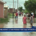 Piura: Pobladores han perdido sus pertenencias tras intensas lluvias