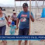 Continúan invasores en El Porvenir