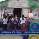 La Esperanza: Inician labores en 22 jardines municipales