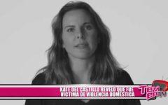 Kate del Castillo reveló que fue víctima de violencia doméstica