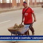 """Ciudadanos se unen a campaña """"Limpiemos Trujillo"""""""