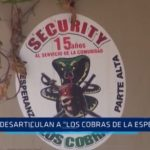 "Desarticulan a ""Los cobras de La Esperanza"""