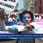"""Trujillo: Marcha """"Con mis hijos no te metas"""" congregó a miles de personas"""