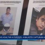 """La Esperanza: A balazos capturan a """"marcas"""" que asaltaron a esposos"""
