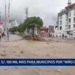 La Libertad: 100 mil soles más para que municipios afronten consecuencias de El Niño Costero