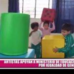 Artistas apoyan a Ministerio de Educación para explicar enfoque de igualdad de género