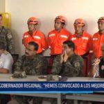 """Gobernador Regional: """"Hemos convocado a los mejores peritos"""""""