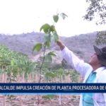 El Trópico: Alcalde impulsa creación de planta procesadora de maracuyá
