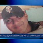 La Esperanza: Reconstruyen asesinato de policía a manos de su compañero
