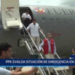 Piura: PPK evalúa situación de emergencia en Piura