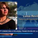 MPT: Alcalde condecora a regidora transexual en el Día de la Mujer