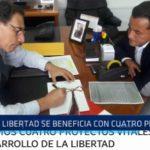 Richard Acuña: La Libertad se beneficia con cuatro proyectos