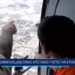 Trujillo: Sobrevuelan zonas afectadas y detectan ocho puntos críticos
