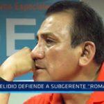 """Trujillo: Elidio defiende a subgerente """"romántico"""""""