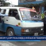 Trujillo: INDECOPI y MPT fiscalizarán vehículos de transporte escolar