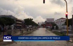 Exhortan a ayudar con limpieza de Trujillo