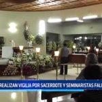 Trujillo: Realizan vigilia por sacerdote y seminaristas fallecidos