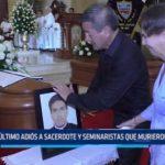 Trujillo: Último adiós a sacerdote y seminaristas que murieron ahogados