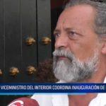 Trujillo: Viceministro del Interior coordina inauguración de Escuela PNP
