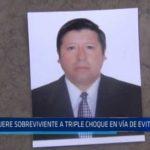 Trujillo: Muere sobreviviente a triple choque en Vía de Evitamiento