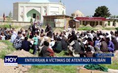Afganistán: Entierran a víctimas de atentado talibán