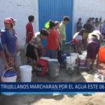 Trujillanos marcharán por el agua este 6 de abril