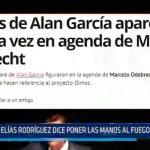 Trujillo: Elías Rodríguez dice poner las manos al fuego por Alan García