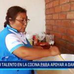 El Porvenir: 3 amas de casa apoyan a damnificados por huaicos