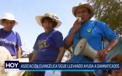 Huanchaco: Asociación evangélica lleva ayuda a familias afectadas por huaicos