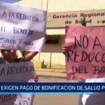 Trujillo: Personal médico exige pago de bonificación de salud pública