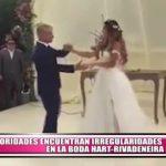 Autoridades encuentran irregularidades en la boda Hart-Rivadeneira
