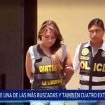 Trujillo: Cae una de las más buscadas y también 4 extorsionadores