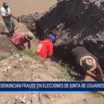 Moche: Denuncian fraude en elecciones de Junta de Usuarios de Agua