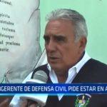 La Libertad: Subgerente de Defensa Civil pide a la población mantenerse alerta