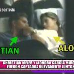 Christian Meier y Alondra García Miró fueron captados nuevamente juntos