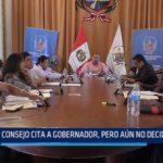La Libertad: Consejo cita a gobernador para responder por el plan de reconstrucción