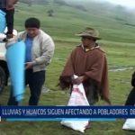 Julcán: Lluvias y huaicos siguen afectando a pobladores de Huaso