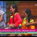 """Danza a cargo del Taller Artístico y Cultural """"Orígenes de Moche"""""""