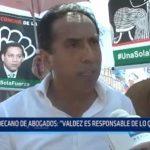 "Decano de Abogados: ""Valdez es responsable de lo que pasa"""