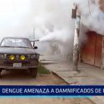 El Porvenir: Dengue amenaza a damnificados de Río Seco