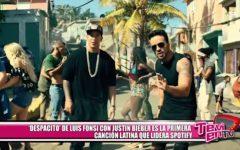 """""""Despacito"""" de Luis Fonsi con Justin Bieber es la primera canción latina que lidera Spotify"""
