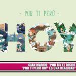"""Gian Marco: """"Por fin el disco 'Por ti Perú hoy' es una realidad"""""""
