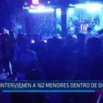 Trujillo: Intervienen a 162 menores de edad dentro de discoteca