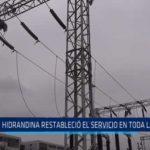 La Libertad: Hidrandina restableció servicio de electricidad en toda la región