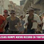 Enrique Iglesias rompe nuevo récord en YouTube